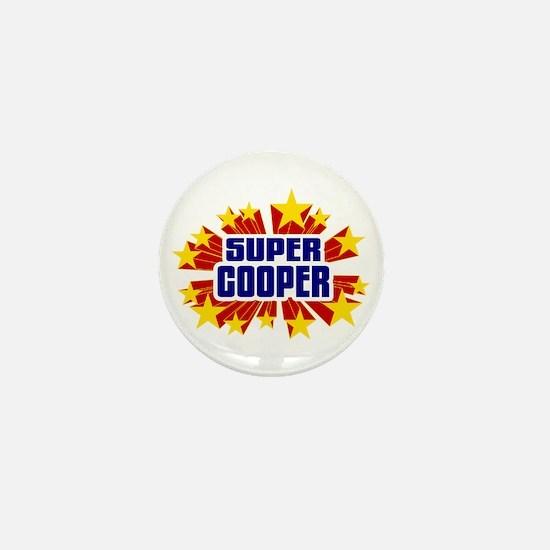 Cooper the Super Hero Mini Button