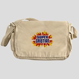 Cristian the Super Hero Messenger Bag