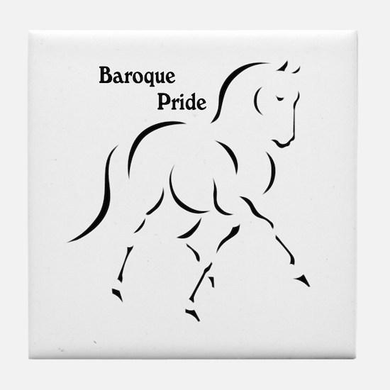 Baroque Pride Tile Coaster