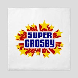 Crosby the Super Hero Queen Duvet
