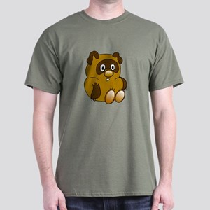 Russian Vini Pooh Dark T-Shirt