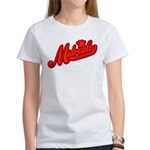 Midrealm Red Retro Women's T-Shirt