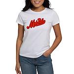 Midrealm Red Retro Women's T-Shirt