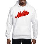 Midrealm Red Retro Hooded Sweatshirt
