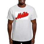 Midrealm Red Retro Ash Grey T-Shirt