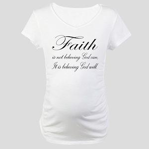 Faith Maternity T-Shirt