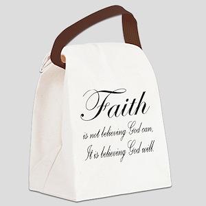FaithL2400x2400 Canvas Lunch Bag