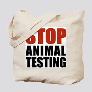 Stop Animal Testing Tote Bag