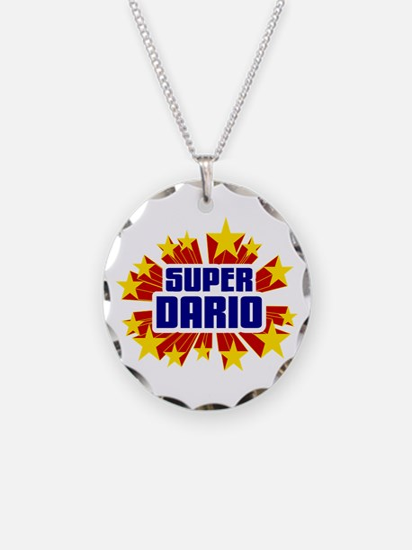 Dario the Super Hero Necklace