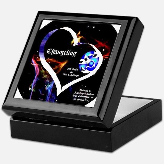 JM Changeling Oval Keepsake Box