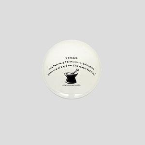 Passed NPTC Exam Mini Button