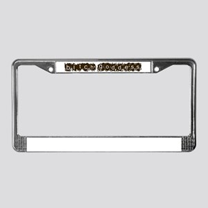 bitch goddess License Plate Frame