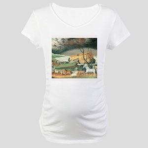 Noahs Ark Maternity T-Shirt