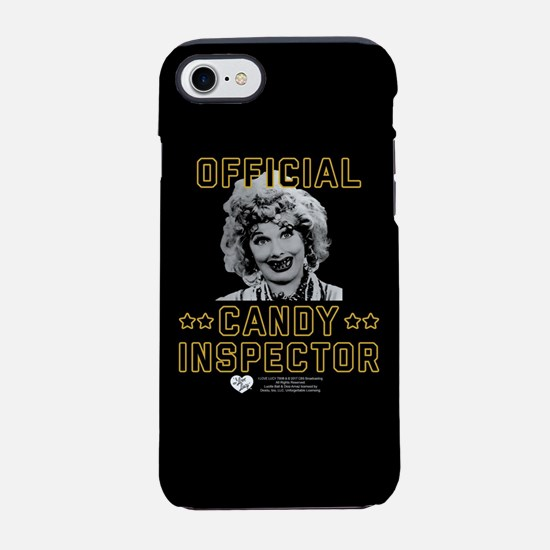 Lucy Candy Inspector iPhone 7 Tough Case