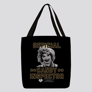 Lucy Candy Inspector Polyester Tote Bag