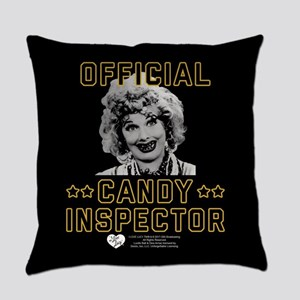 Lucy Candy Inspector Everyday Pillow
