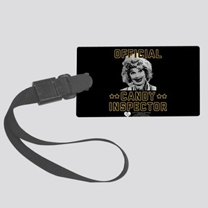 Lucy Candy Inspector Large Luggage Tag