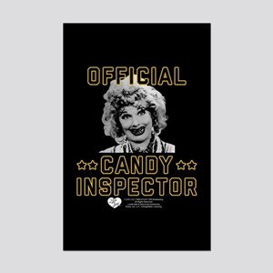 Lucy Candy Inspector Mini Poster Print