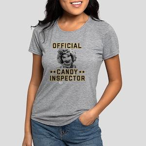 Lucy Candy Inspector Womens Tri-blend T-Shirt