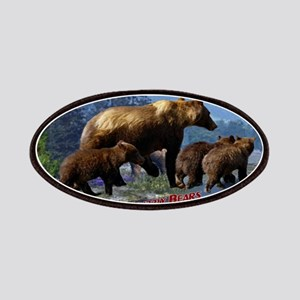 Mountain Grizzly Bears Patch