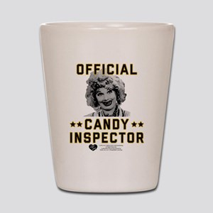 Lucy Candy Inspector Shot Glass