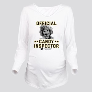 Lucy Candy Inspector Long Sleeve Maternity T-Shirt