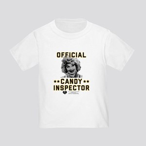 Lucy Candy Inspector Toddler T-Shirt