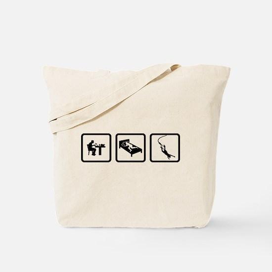 Bungee Jumping Tote Bag