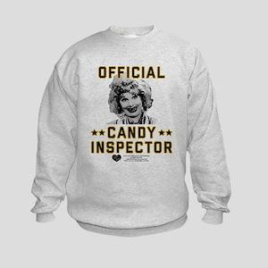 Lucy Candy Inspector Kids Sweatshirt