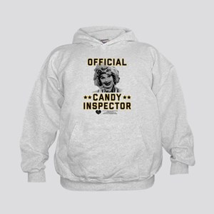 Lucy Candy Inspector Kids Hoodie