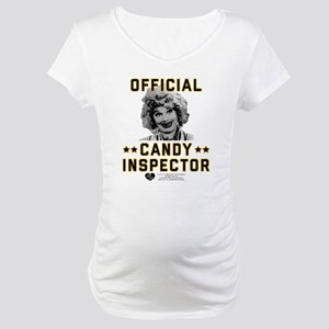 Lucy Candy Inspector Maternity T-Shirt