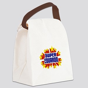 Eduardo the Super Hero Canvas Lunch Bag