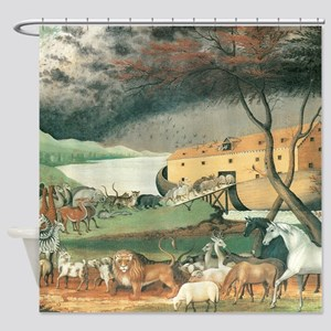 Noahs Ark Shower Curtain