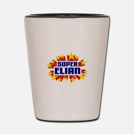 Elian the Super Hero Shot Glass