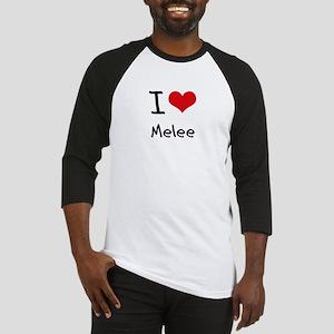 I Love Melee Baseball Jersey