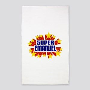 Emanuel the Super Hero 3'x5' Area Rug