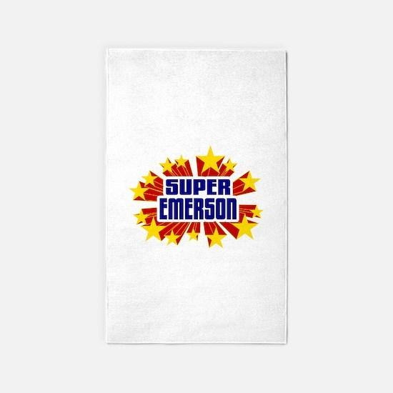 Emerson the Super Hero 3'x5' Area Rug