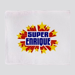 Enrique the Super Hero Throw Blanket