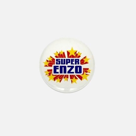 Enzo the Super Hero Mini Button