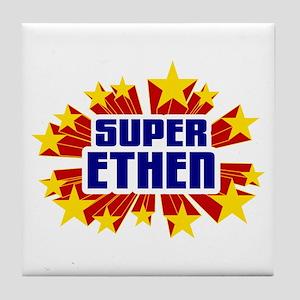 Ethen the Super Hero Tile Coaster