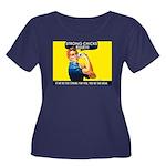 Strong Chicks Dark Women's Plus Size T-Shirt