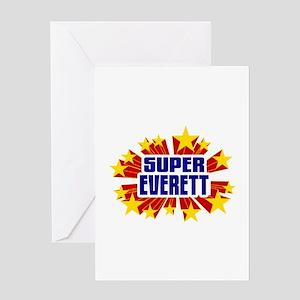 Everett the Super Hero Greeting Card
