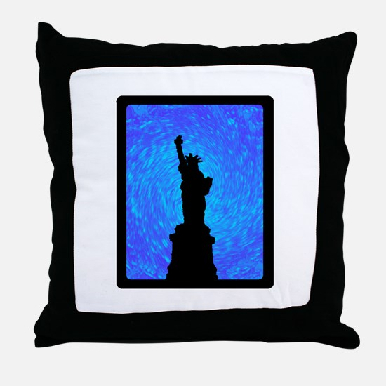 STANDS FOR LIBERTY Throw Pillow