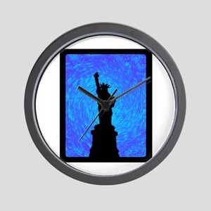 STANDS FOR LIBERTY Wall Clock