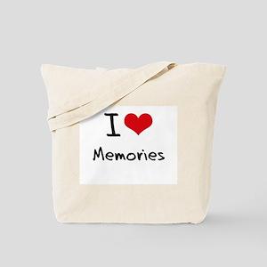 I Love Memories Tote Bag