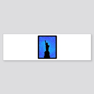 STANDS FOR LIBERTY Bumper Sticker
