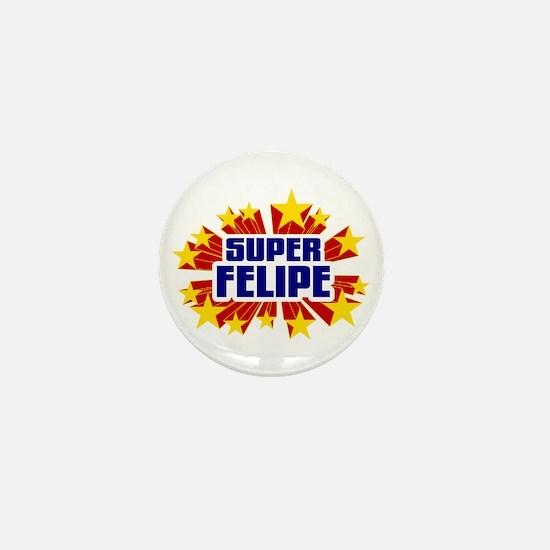 Felipe the Super Hero Mini Button