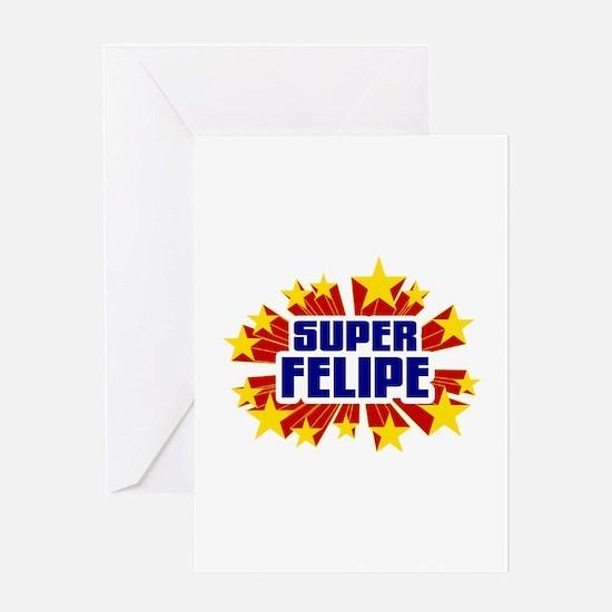 Felipe the Super Hero Greeting Card
