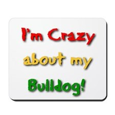 Bulldog gifts for women Mousepad