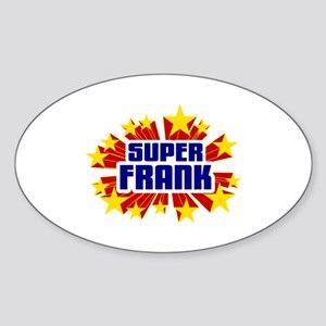 Frank the Super Hero Sticker